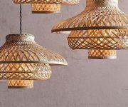 Simple-rattan-lampshade-ideas