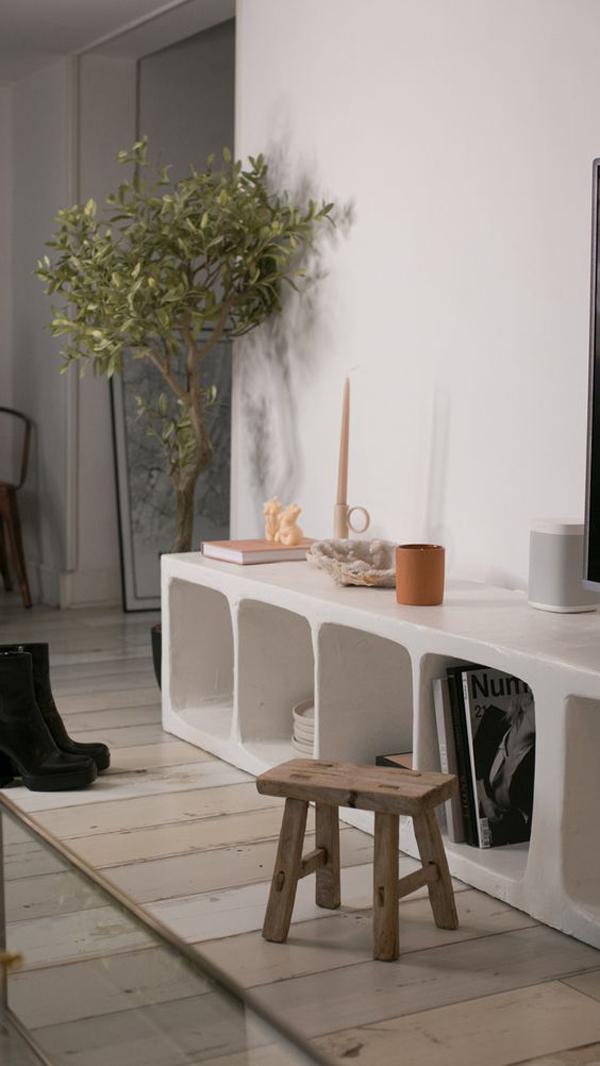 White-meuble-tv-table