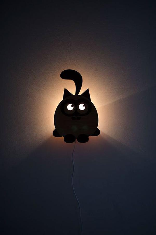 A-cute-bedroom-light