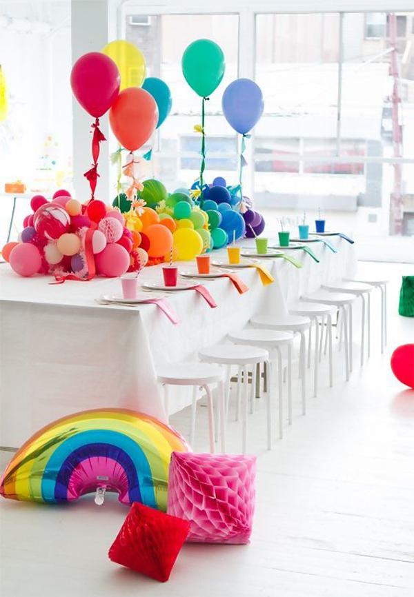 Balloon-table-ideas