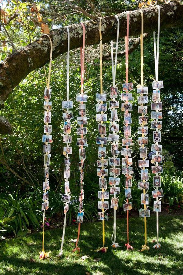 Brilliant-wedding-photo-display
