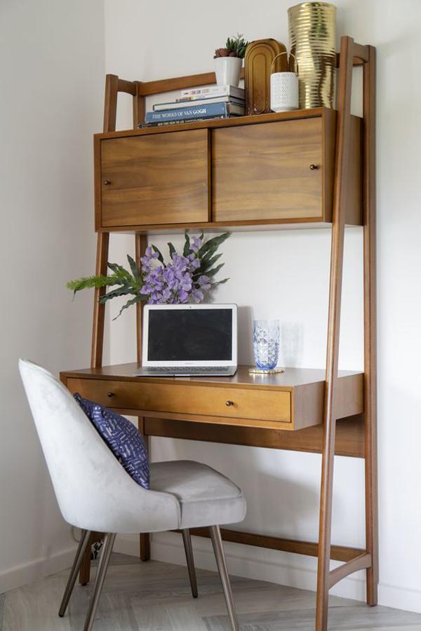 Century-wood-wall-desk
