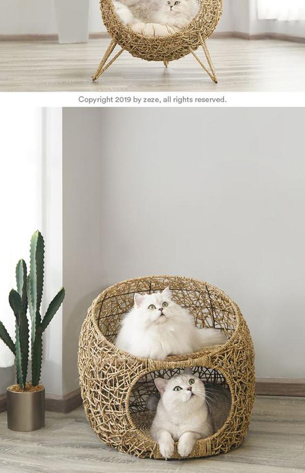 Cute-rattan-furniture-for-cat