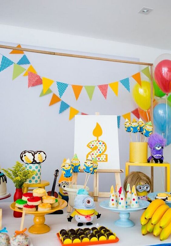 Funny-theme-for-kids-birthday-party-decoration