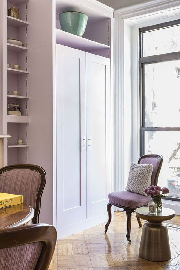 Lilac-library-in-the-house