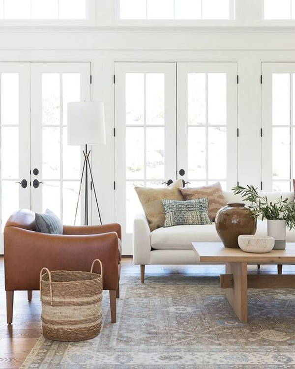 Living-room-with-white-color-themed