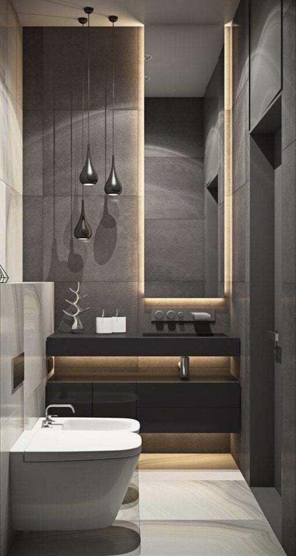 Luxurious-black-bathroom-design