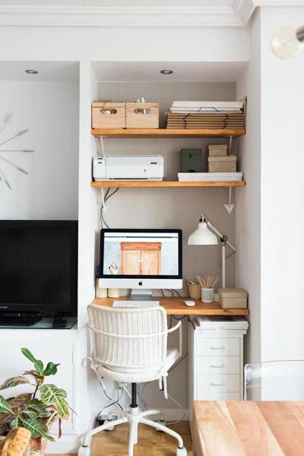 Minimalist-work-bench-with-storage