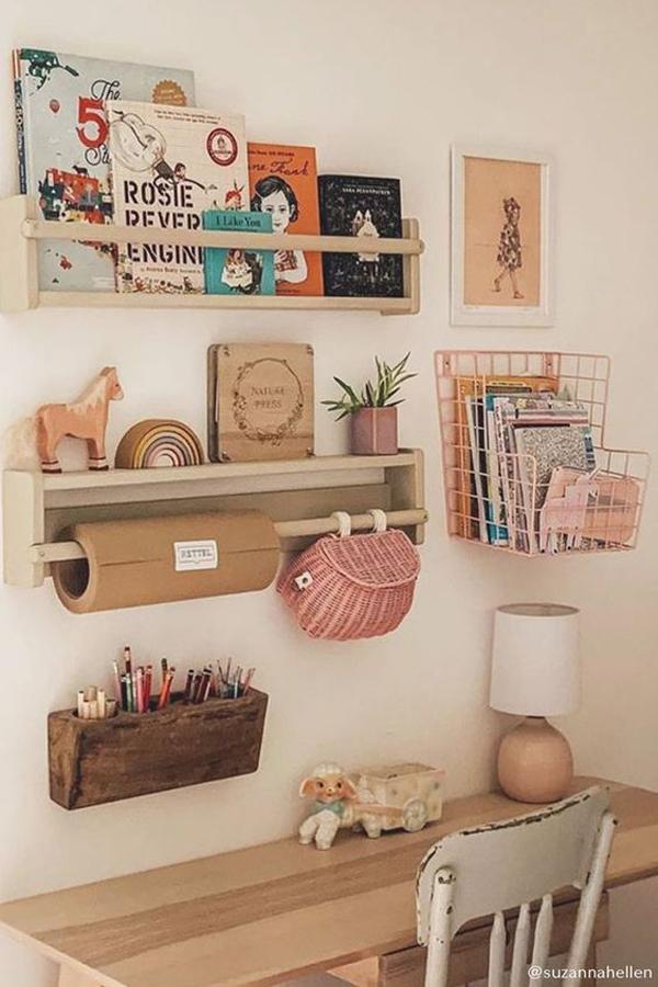 Study-desk-and-wall-storage-design