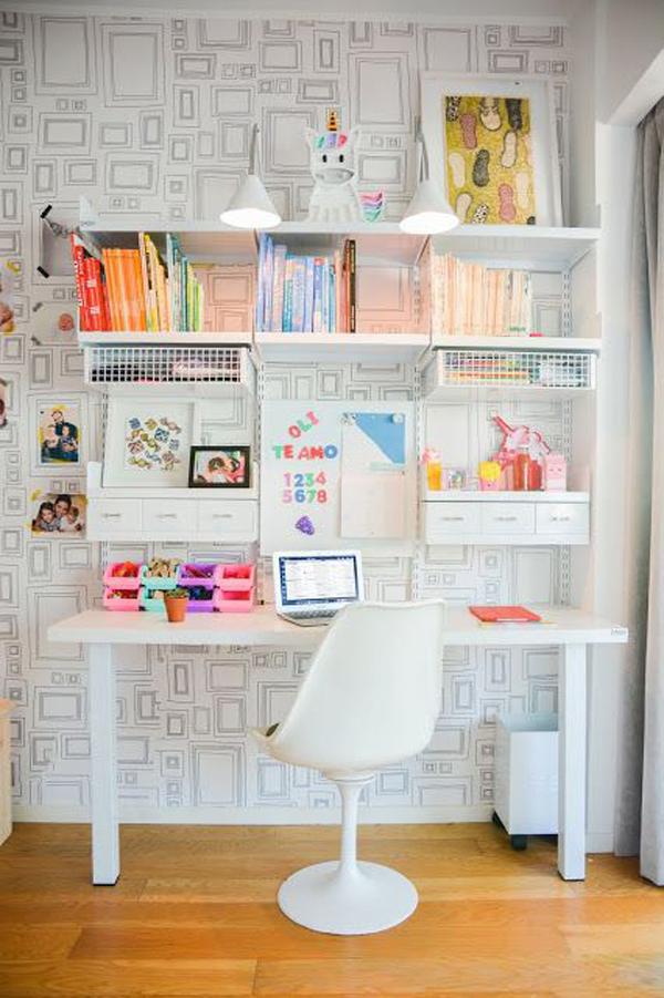 White-study-deck-decor-and-storage-ideas