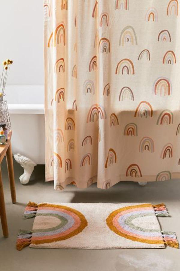 A-half-rainbow-bath-doormat