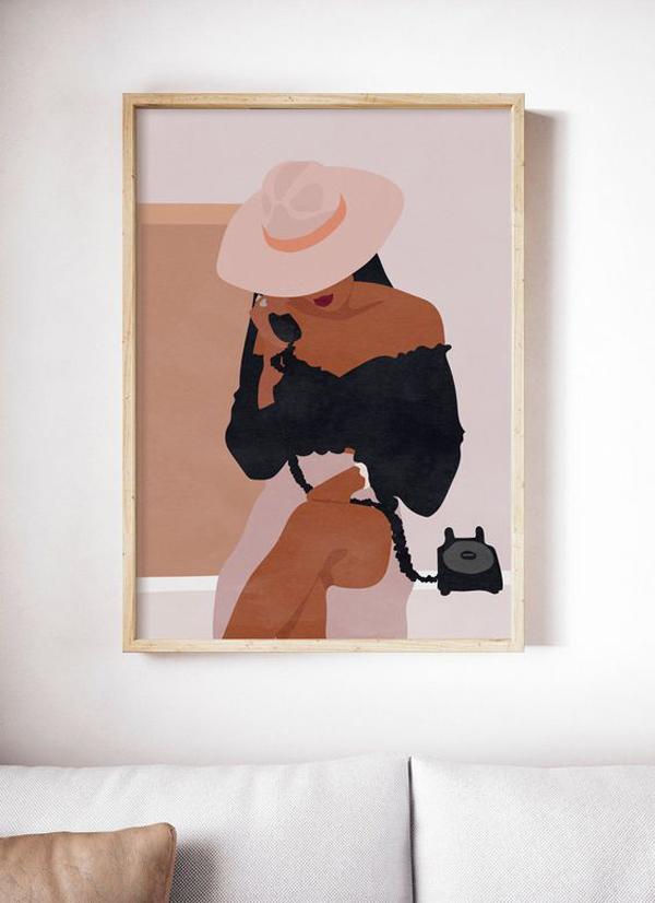 African-woman-art