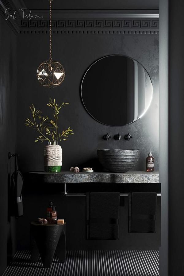 Amazing-black-bathroom-design