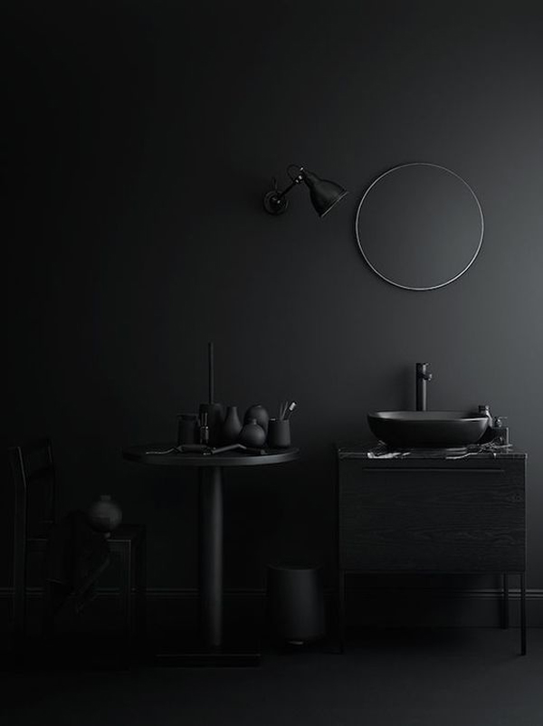 Beautiful-dark-bathroom
