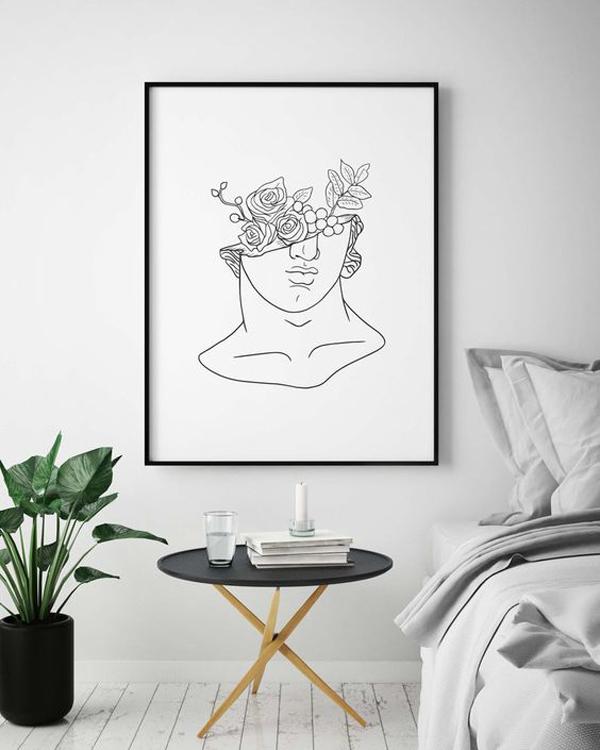 Beautiful-feminist-wall-art-design