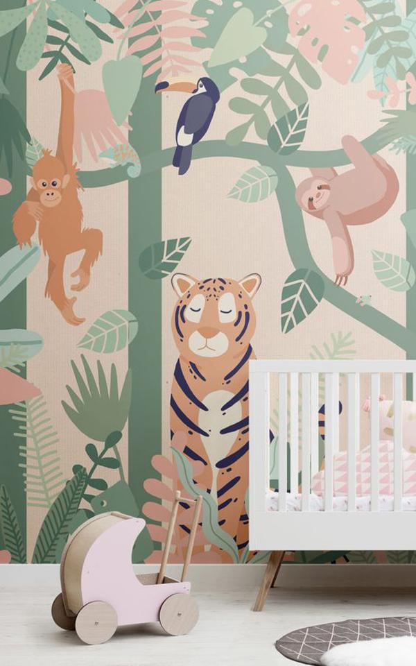 Beautiful-kids-wallpaper-ideas