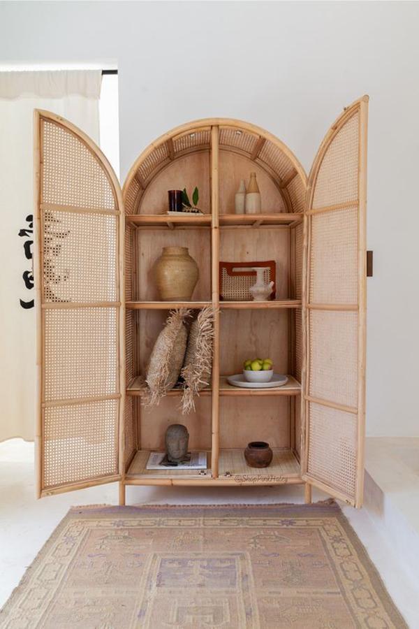 Beautiful-rattan-cupboard