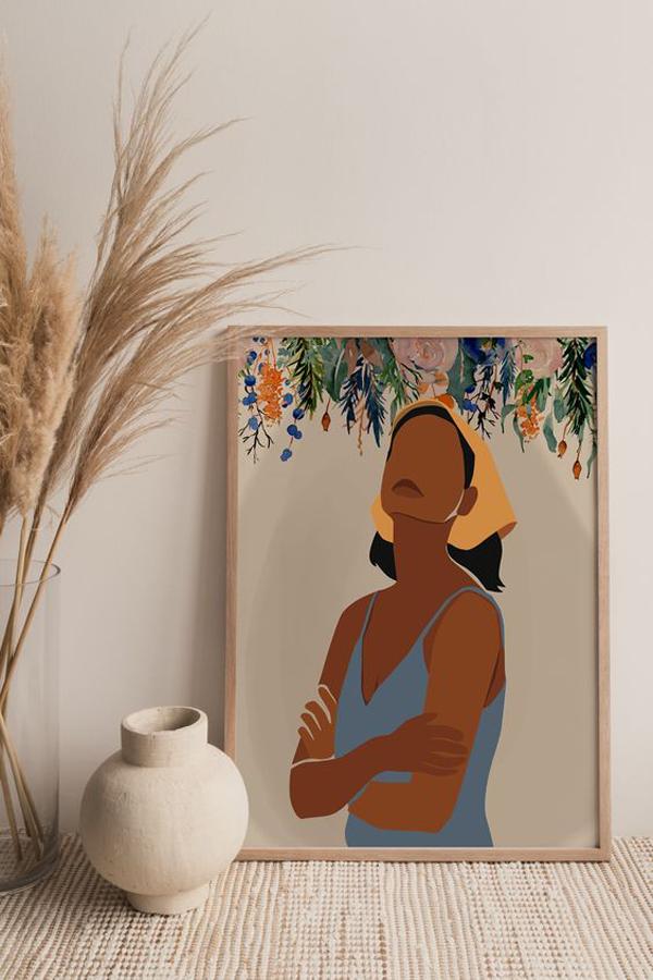 Black-woman-wall-art-ideas