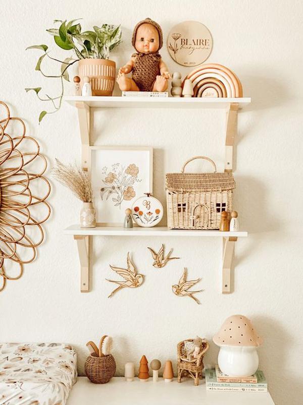 Boho-nursery-decor