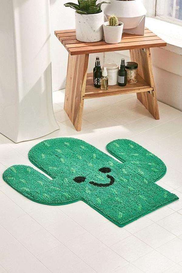 Cactus-bathroom-mat
