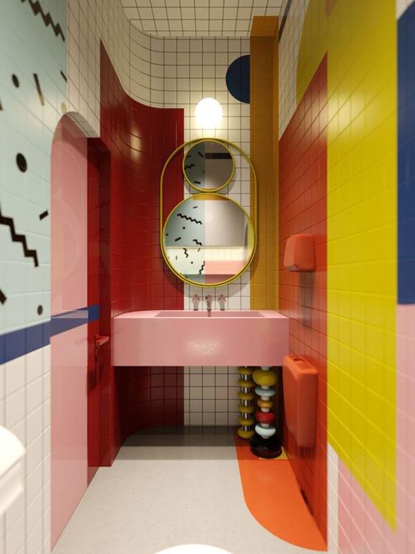 Colorful-bathroom-design-ideas