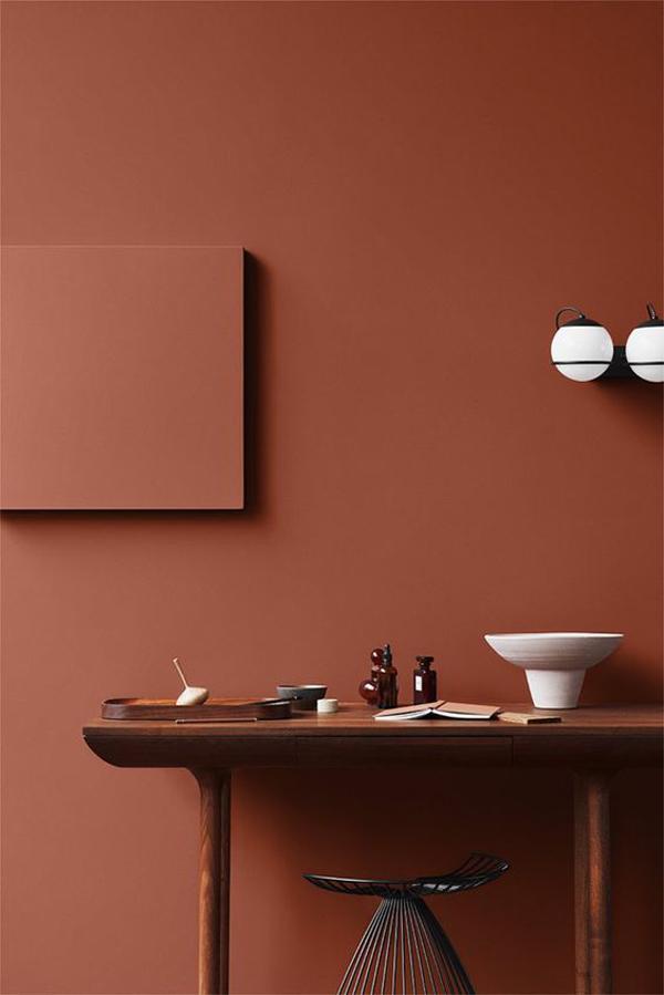 Dark-brown-paint-wall