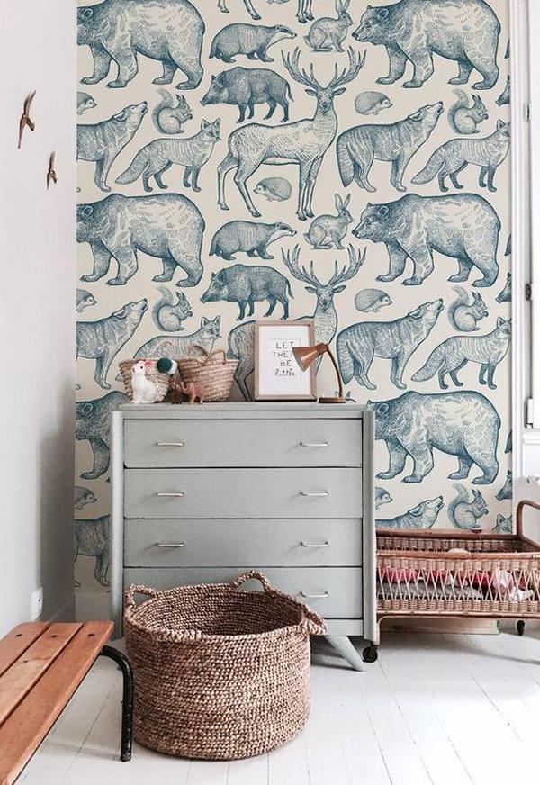 Forest-animals-wallpaper