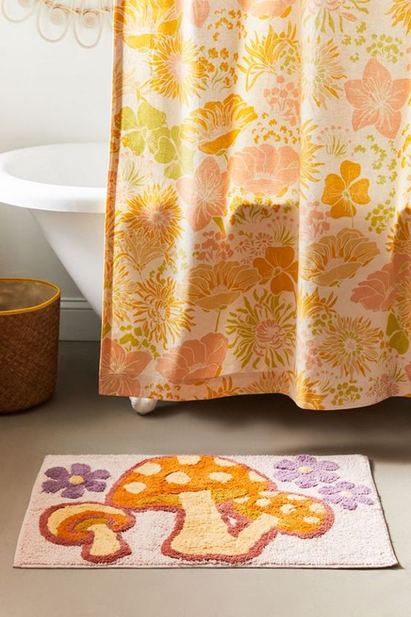 Fungi-bath-rug