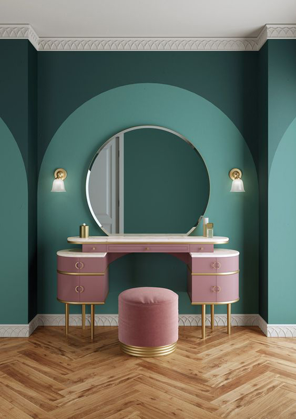 Girls-room-decor-and-dressing-table