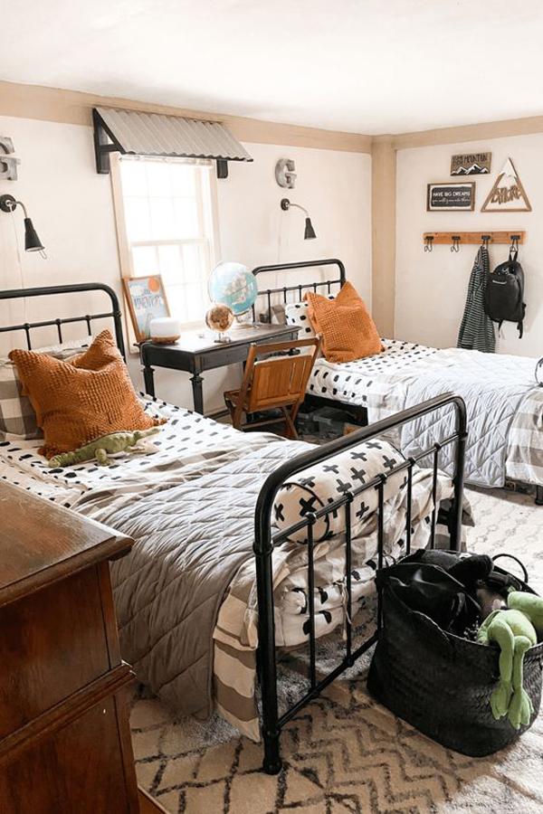 Kids-bedroom-decor-for-twin-boys