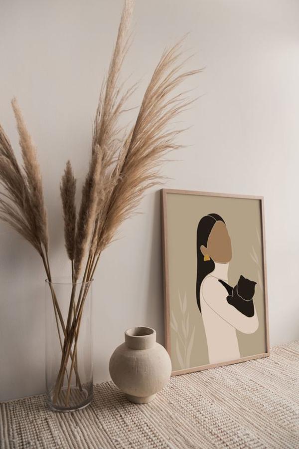 Modern-woman-wall-art