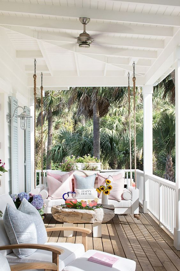 Porch-decor-with-swing-white