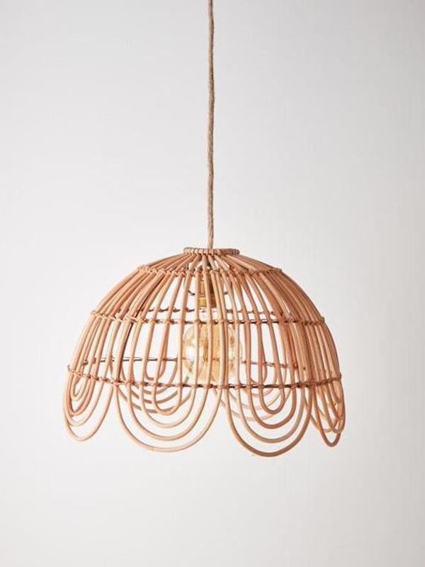 Rattan-chandelier
