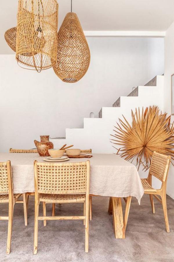 Rattan-dining-table-set