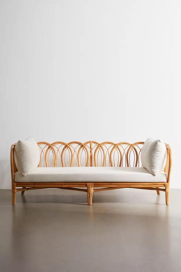 Rectangular-rattan-sofa