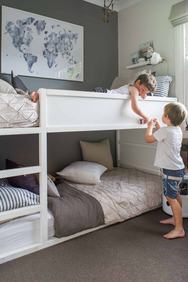 Simple-bunk-bed-for-kids