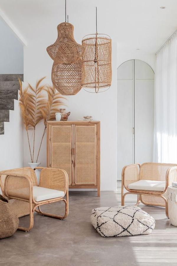 Villa-Bali-with-rattan-furniture-decor