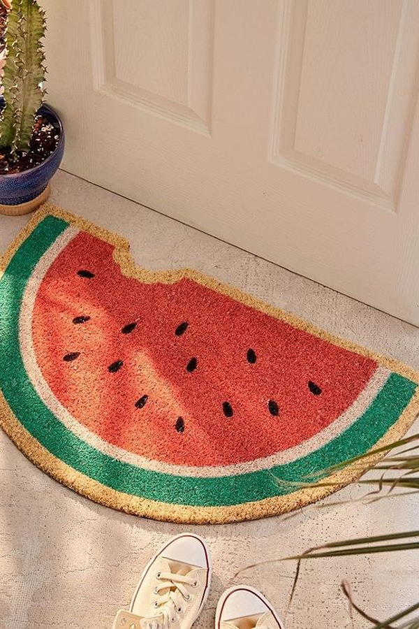 Watermelon-bath-mat