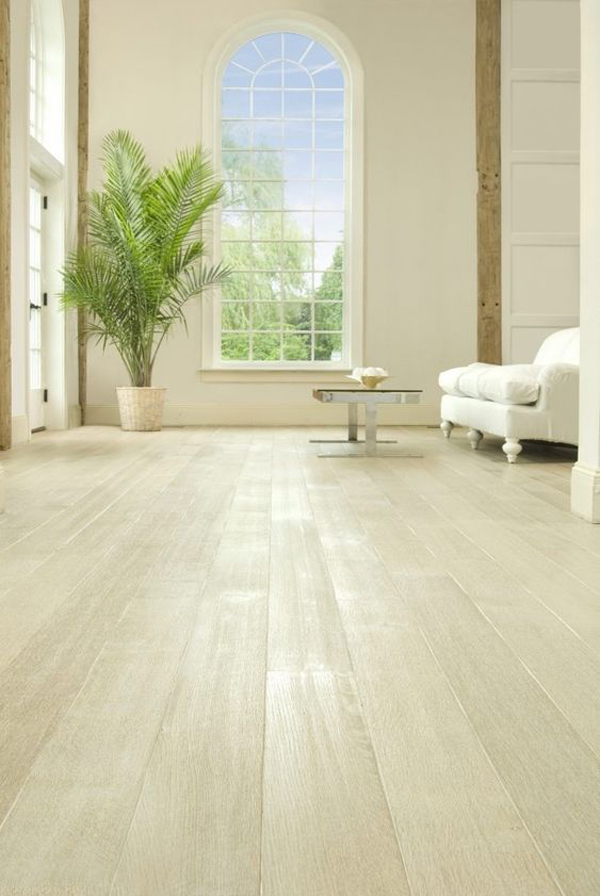 White-wooden-flooring
