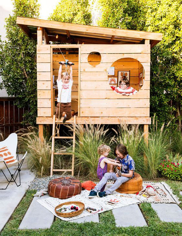Wooden-play-houses