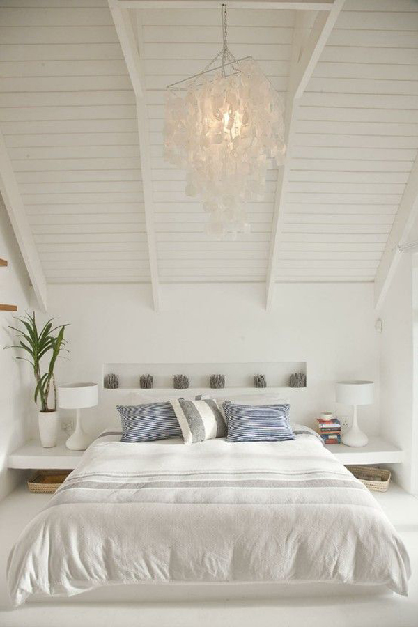 Bedroom-with-white-themed