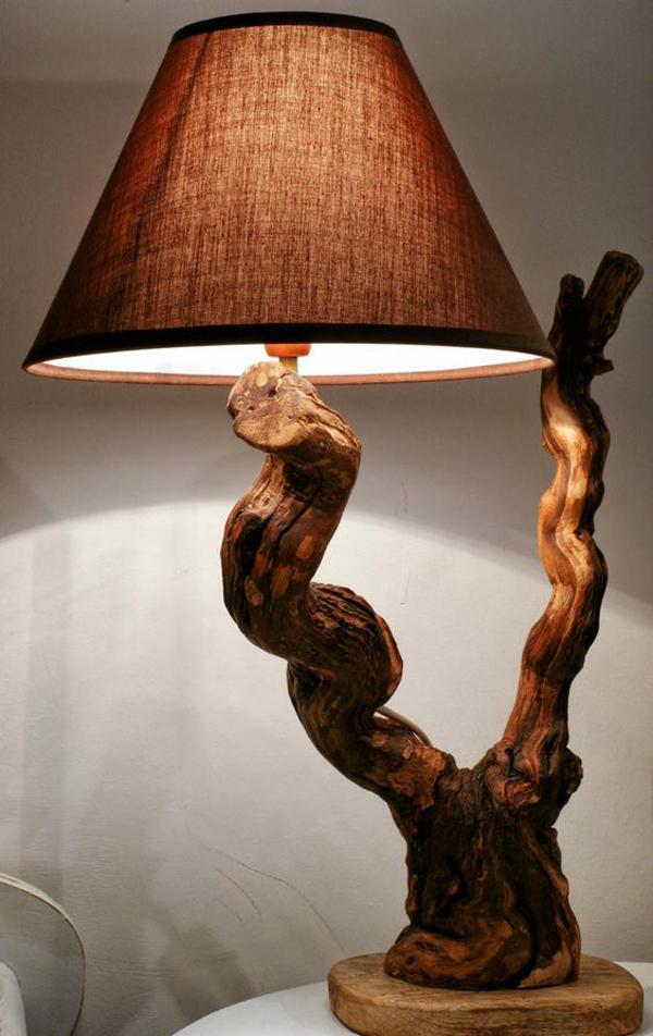 Handmade-wooden-lamp
