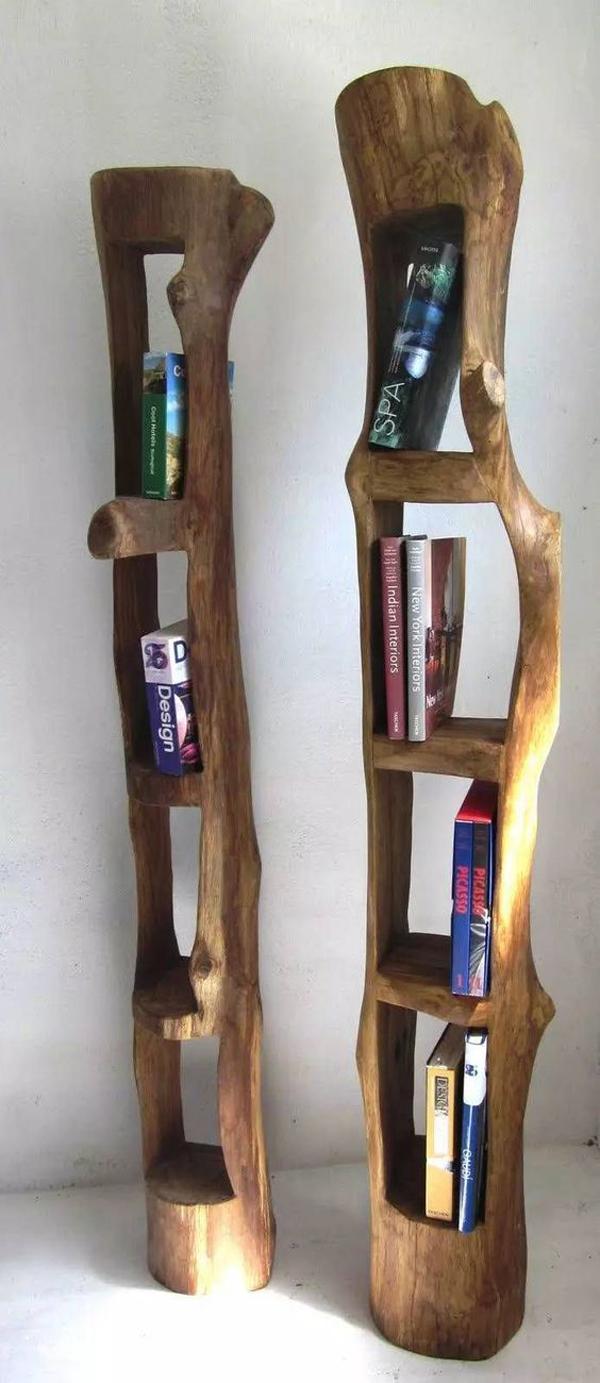 Wooden-book-shelf